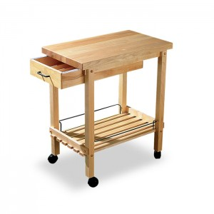 DauHaus Cart with Drawer (Shown in Maple)