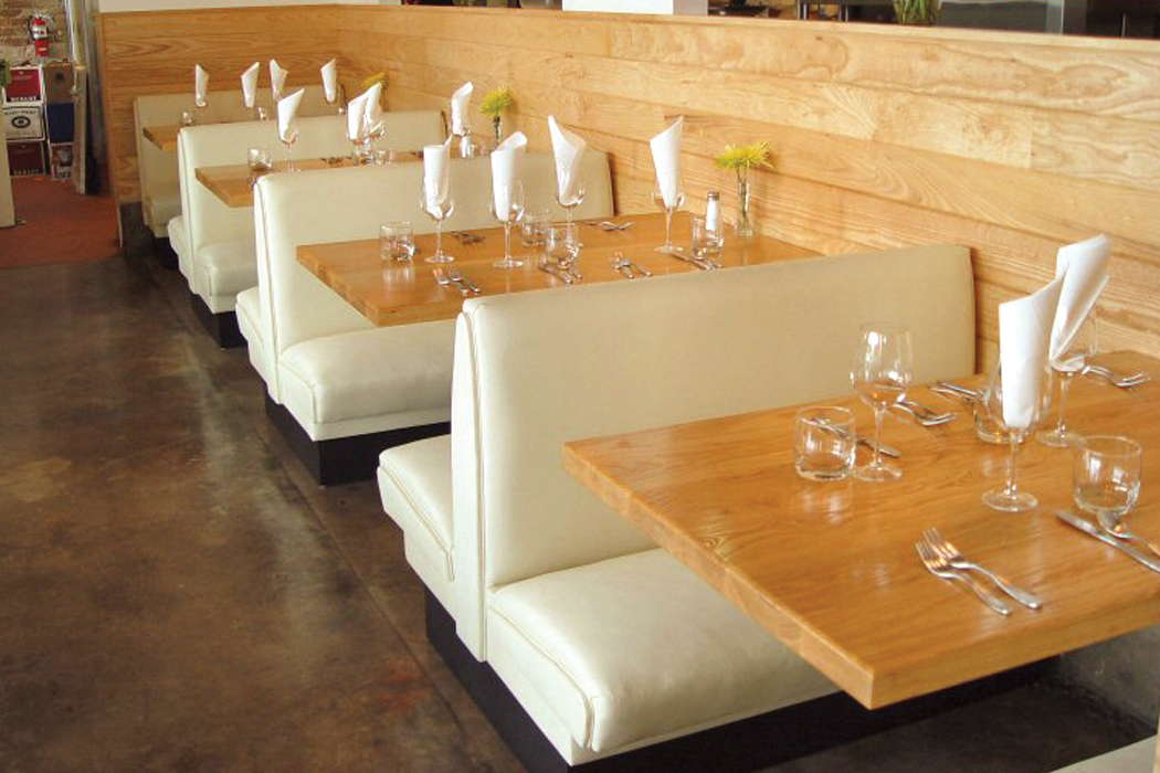 Rectangular dining table top for Design restaurant table