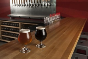 On tap: The Sickle, a standout Saison. And Prybar Porter, deep, rich and smooth.