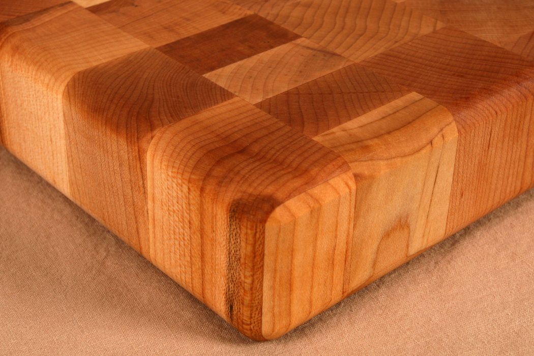 how to clean a chopping block