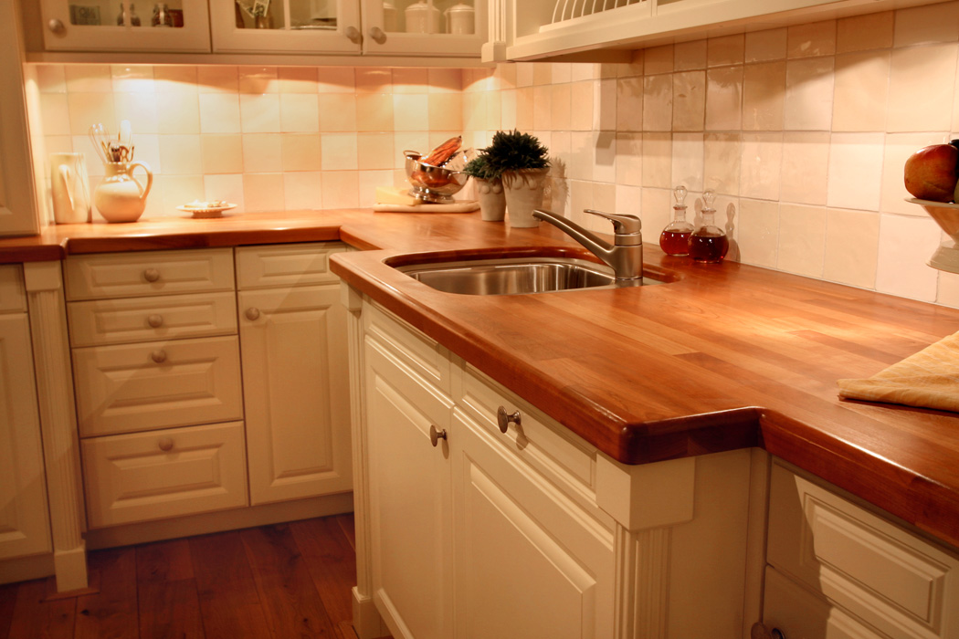 white kitchen cabinets with butcher block countertops cherry countertop 2204