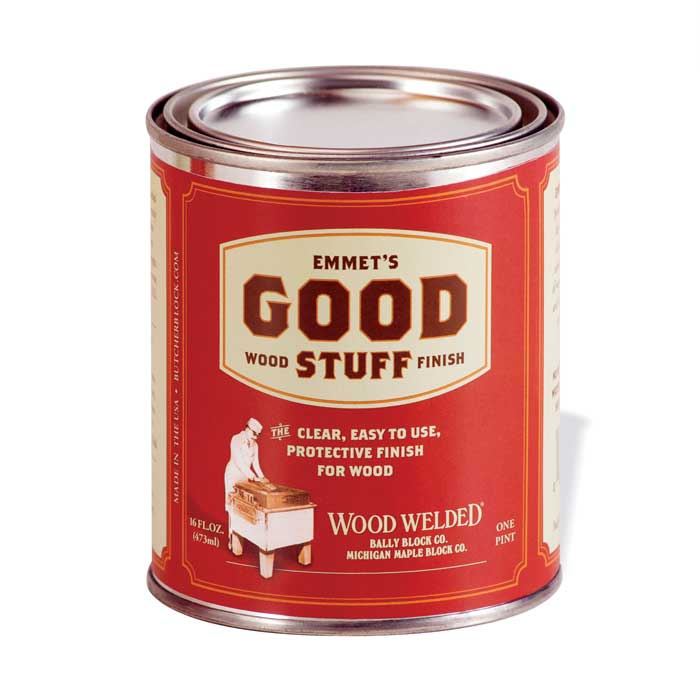 "Emmet's ""Good Stuff"" Wood Finish"