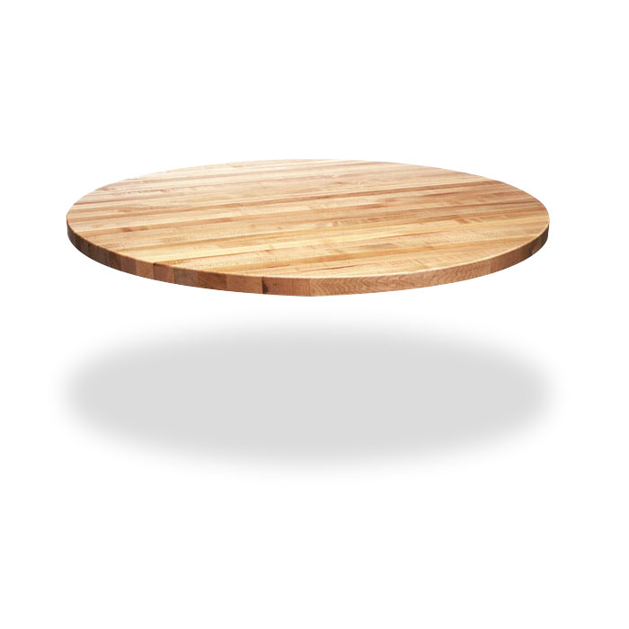 Round Wood Kitchen Table