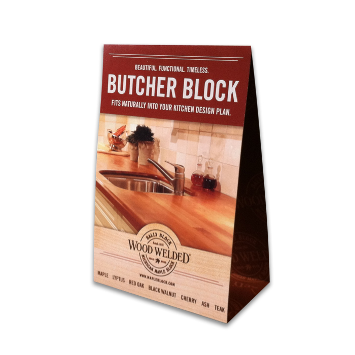 sc 1 st  Michigan Maple Block & F. Point-of-purchase Table Tent